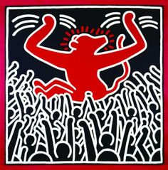 Keith Haring, Monkey, 1982 Collection privée © Keith Haring ...