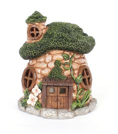 Bloom Room Littles Resin Cobblestone House