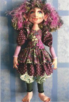 Cloth Doll Patterns by Jody Miller