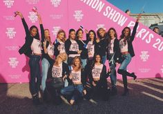 Victoria's Secret angels get ready to fly to Paris for VS 2016!