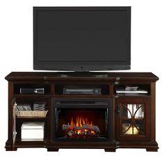 <3 Scarlett Electric Fireplace Media Console <3