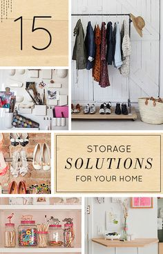 15 Clever Storage Solutions For Your Home