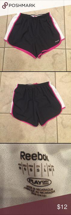 "Reebok Playdry Shorts Size S EUC from a non-smoking home, 3"" inseam Reebok Shorts"