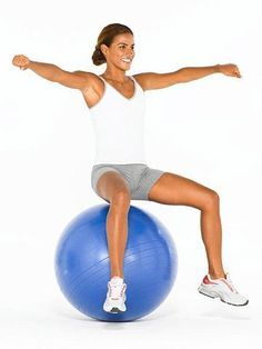 Toning Exercises for a Stability Ball: A Complete Workout | Fitness Magazine