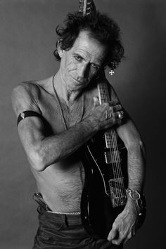 Keith Richards by Sante D'Orazio
