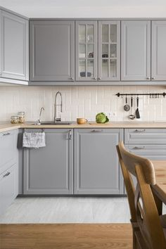 Uplifting Kitchen Remodeling Choosing Your New Kitchen Cabinets Ideas. Delightful Kitchen Remodeling Choosing Your New Kitchen Cabinets Ideas. Kitchen Room Design, Kitchen Layout, Home Decor Kitchen, Interior Design Kitchen, Diy Kitchen, Home Kitchens, Kitchen Ideas, Decorating Kitchen, Kitchen Tips