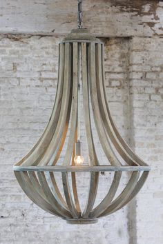 Hanglamp Lara - Oud grijs - 61 cm - Light & Living