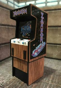 Zaxxon arcade game