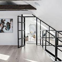 Room Ideas Bedroom, Room Decor, Bedroom Divider, Luxury Penthouse, Decoration, Home Improvement, House Ideas, House Design, Doors