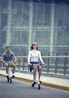 A Different Life Begins Due To Airwheel intelligent ebikes.