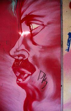 Detail of graffiti mural in Spanish Harlem, NYC. (Corey Wise) LPI