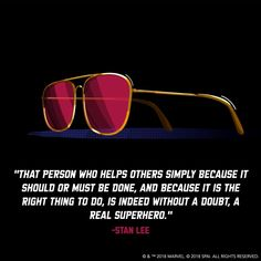 Stan Lee is a superhero, Marvel forever Stan Lee Quotes, Marvel Quotes, Avengers Quotes, Avengers Imagines, Joker Quotes, Spider Verse, Marvel Cinematic Universe, Dc Universe, Marvel Avengers