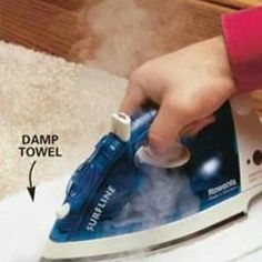 Scentsy tip .... Accidents happen! If your wax gets spilt on your carpets or wall try this, using an iron and an old damp towel, the heat should melt the wax straight onto damp towel  #scentsy #spiltwax ninagonzales.scentsy.us