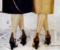 Van Raalte stockings, 1951
