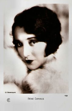 https://flic.kr/p/N9XkCU | Bebe Daniels | French postcard by Cinémagazine Edition, Paris, no. 452. Photo: Paramount.  Bebe Daniels (1901-1971) was an American actress, singer, dancer, writer and producer. She began her career in Hollywood during the silent film era as a child actress and later a the love interest of Harold Lloyd in dozens of short comedies. Cecil B. de Mille made her a silent star and later she sang and danced in early musicals like Rio Rita (1929) and 42nd Street (1933)…