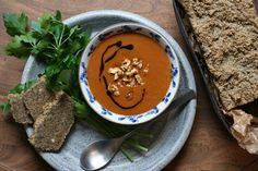 Kürbissuppe mit Ingwer und Orange - zartbitter & zuckersüss