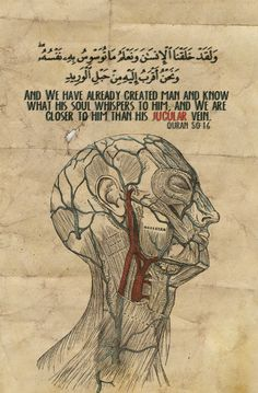 Allah, He is closer to us than our jugular vein.