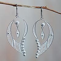 Sterling silver filigree earrings, 'Cherubic Wings' from @NOVICA, They help #artisans succeed worldwide.