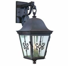 """View the Troy Lighting B2353 Traditional / Classic Three Light 24.25"""" Tall Outdoor Wall Lantern from the Markham Collection at Build.com. $516"""