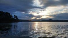 Another fantastic sunrise on Lake Ouachita!