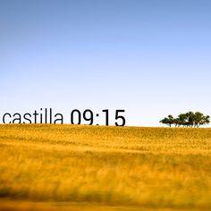 Castilla en una perfecta mañana de verano, los colores se intensifican hasta el infinito    (photo by Pedro Fernández)