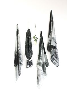These gorgeous over-sized 36 x silk scarves from Fieldguided are rocking my world. An ice cave, a mountain,.