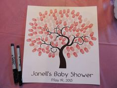 Pink, Grey & Aqua Baby Shower Party Ideas | Photo 20 of 25 | Catch My Party