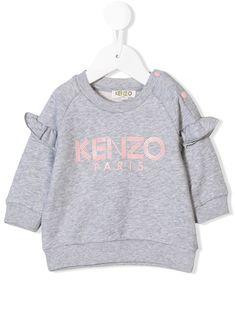 cc64bc76076 Kenzo Kids Logo Print Sweatshirt - Farfetch