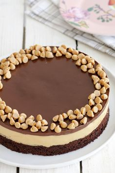 Chocolate, Coffee and Peanut Butter Cake