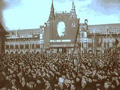 """""""Гагарин вернулся на землю"""" Речь Хрущева на стихийном митинге в Москве, ..."""