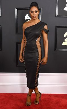 1c18c0d142ab Grammys 2017 Best Dresses  Every Gorgeous Gown on the Red Carpet - Laverne  Cox in