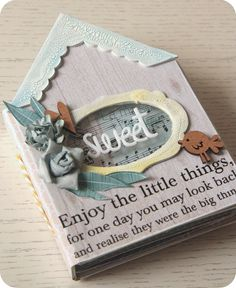 sweet mini album - large sayings