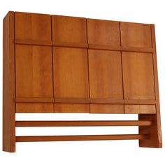 Rare Charlotte Perriand wall cabinet from Les Arcs, 1600