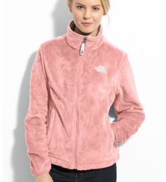 Ballerina pink north face fleece