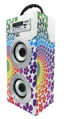 Altavoz Caja Portátil con Bluetooth, Radio, SD, USB, MP3, Inalámbrico y Con Batería Recargable 99611 - https://complementoideal.com/producto/audios/altavoz-caja-portatil-con-bluetooth-radio-sd-usb-mp3-inalambrico-y-con-bateria-recargable-99611/  -  Altavoz Portátil Bluetoothcon el que podrás escuchar toda tu música sin necesidad de cables y en cualquier lugar, conecta todos tus dispositivos mediante la tecnologíaBluetooth fácilmente y comienza a divertirte