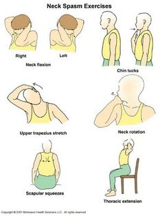 Physical Therapy Exercises In Pictures - Neck Thank you for following CCRC Physical Therapy on Pinterest! Follow our boards and like us on Facebook www.facebook.com/... and visit our website www.ccrcnc.com!