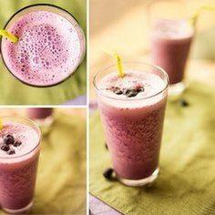 Blueberry Protein Shake