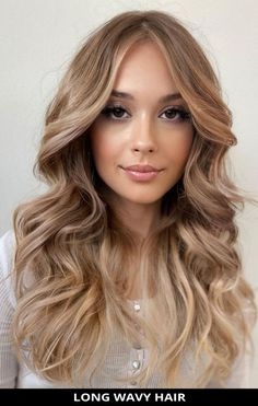 Choose this attractive long wavy hair for a fresh makeover! See what stylists are saying about this style and the rest of these 24 most stunning long wavy hair for an eye-catching style. // Photo Credit: @hair_salon_by_hadis on Instagram Long Wavy Hair, Latest Hairstyles, Salons, Stylists, Lob, Long Hair Styles, Eyes, Hair Colors, Photo Credit