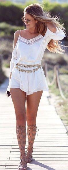 <3 Coachella Romper <3 Coachella Fashion Outfits     40 Coachella Festival Fashion Outfits to Live the Boho Spirit