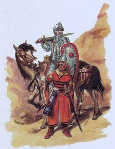 Српска војска, 14. и 15. век