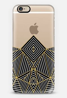 Ab Half Gold Transparent #2 iPhone 6s case by Project M | Casetify