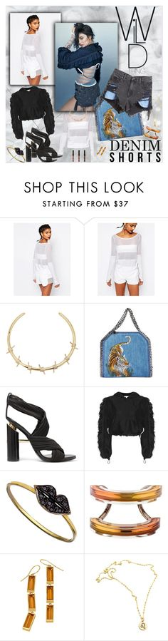 """Wild - Kylie Jenner Glamour UK"" by bklou ❤ liked on Polyvore featuring Reebok, Fallon, STELLA McCARTNEY, Tom Ford, 3.1 Phillip Lim, Kacey K Fine Jewelry, Gucci and Alexander Wang"