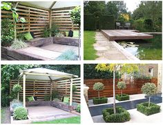incredible outdoor living space , DIY ideas dress it or down , and include lots of ambiant lighting for entertaining your guests and loved ones on those perfect summer evenings ... put lights in the potted trees as well