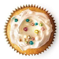Vanilla Cupcakes with Vanilla Bean Frosting   CookingLight.com