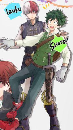 My Hero Academia Merchandise, Boku No Academia, My Hero Academia Shouto, My Hero Academia Episodes, Lgbt Anime, Deku X Todoroki, Pokemon Craft, Kirito Asuna, Fan Art