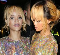 Rihanna's Perfectly Messy Bun — Get Her Hair Look