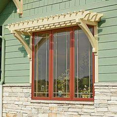 Window arbors. Better than shutters?