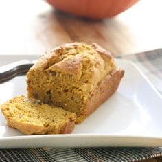 Mini Pumpkin Flaxseed Bread