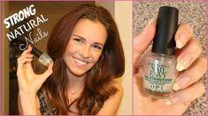 How To Grow LONG & STRONG Natural Nails - OPI Nail Envy Review - natural nails,  best nail strengthener