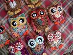 Owls, Owls, Owls by Buckster's Pics, via Flickr.  $6.00 for pattern 6/14.